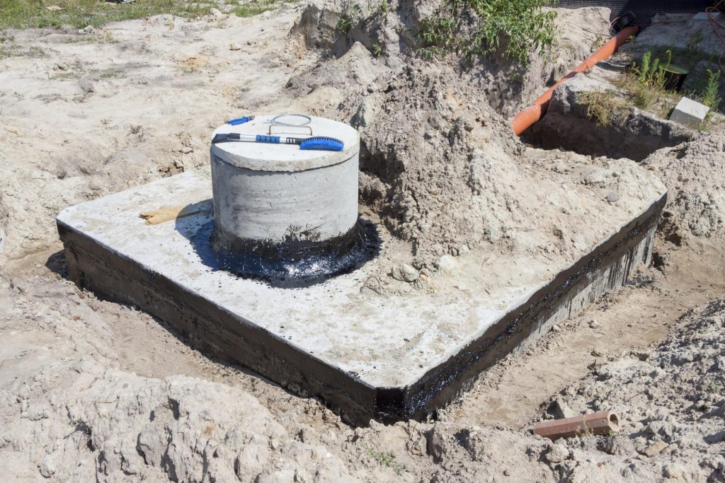 well-designed septic system