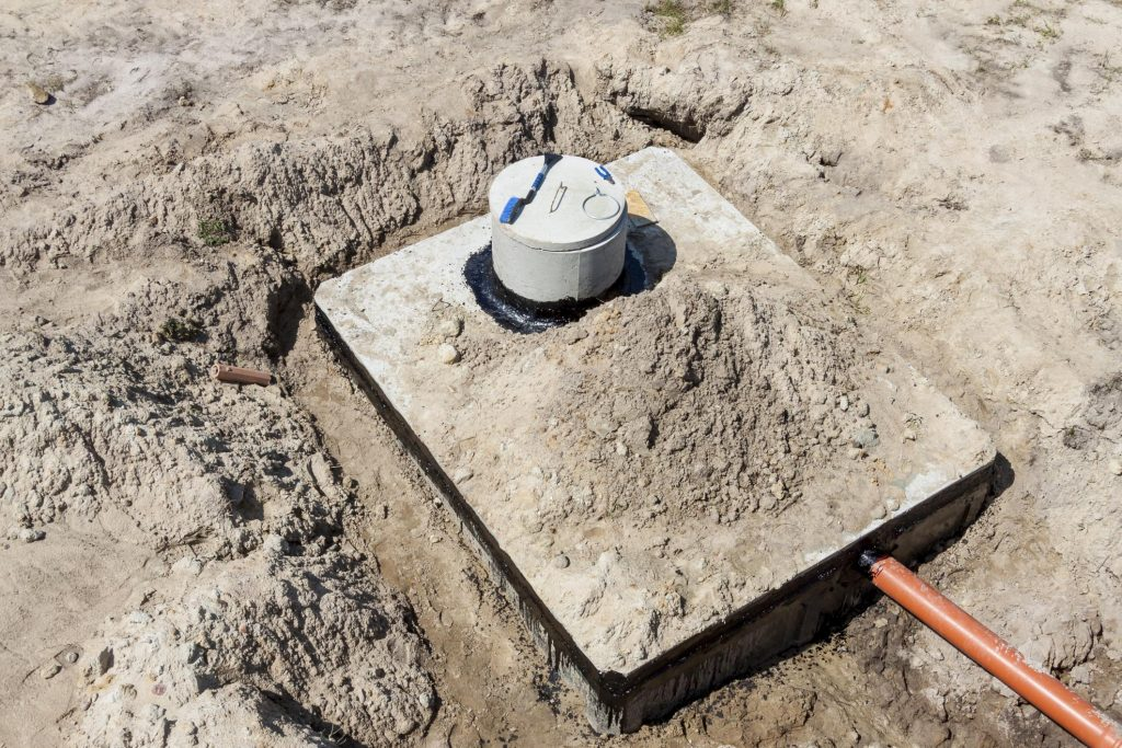 good septic tank installation